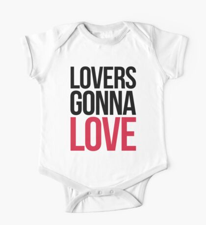 Lovers Gonna Love Funny Quote One Piece - Short Sleeve