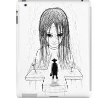 exorcist - bw version iPad Case/Skin