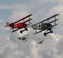 Fokker Squadron - 'Contact' by Pat Speirs
