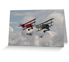 Fokker Squadron - 'Contact' Greeting Card