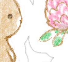 Clover Bunny Sticker
