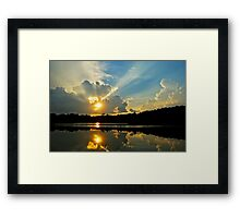 Send Out Your Ray of Sunshine... Framed Print