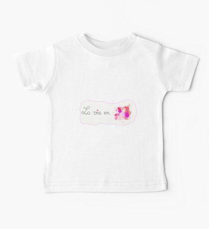 La vie en rose Baby Tee