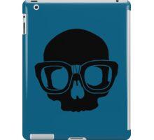 Inner Geek One Color Logo (Black + Large)  iPad Case/Skin