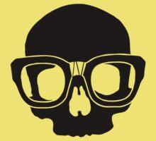 Inner Geek One Color Logo (Black + Large)  Baby Tee