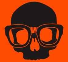 Inner Geek One Color Logo (Black + Large)  Kids Tee