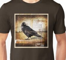 """CROW in My BackYard"" STUDY Unisex T-Shirt"