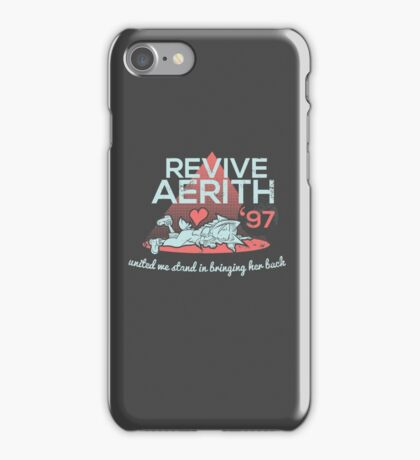 Revive Aerith 1997 iPhone Case/Skin