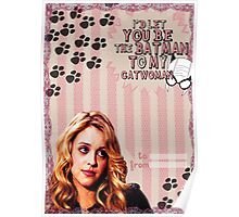 My Teenwolfed Valentine [Be The Batman to My Catwoman] Poster