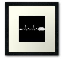 Electro-Cardio Framed Print