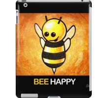 """BEE Happy"" POOTERBELLY iPad Case/Skin"