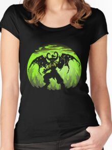 You are not prepared for Legion Women's Fitted Scoop T-Shirt