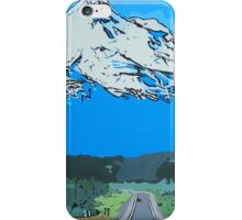 Abstract Painting Mt Everest iPhone Case/Skin