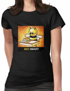 """""""BEE Smart"""" POOTERBELLY Womens Fitted T-Shirt"""