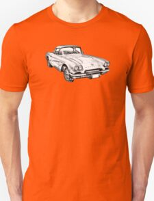 1962 Chevrolet Corvette Illustration T-Shirt