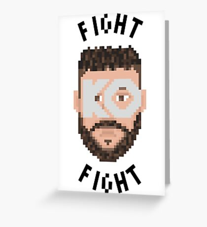 Fight Owens Fight Greeting Card