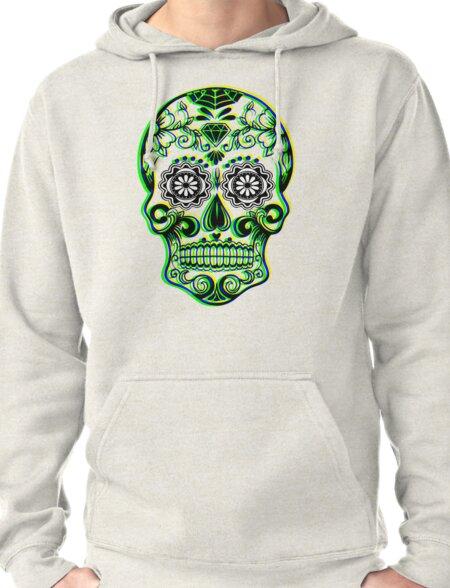 Sugar Skull - Calavera Pullover Hoodie