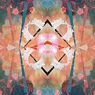 Floral angelic abstract rennaisance pattern by mikath