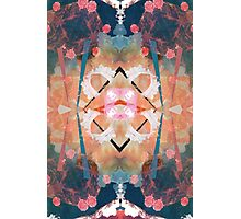 Floral angelic abstract rennaisance pattern Photographic Print