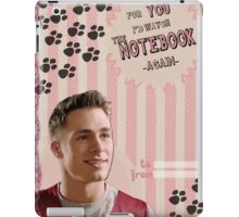 My Teenwolfed Valentine [For You I'd Watch the Notebook] iPad Case/Skin