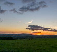 Affetside Sunset. by Dave Staton