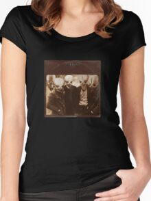Cantina Band (vinyl square version) Women's Fitted Scoop T-Shirt