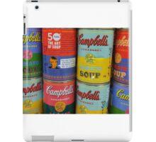 Warhol Soups iPad Case/Skin
