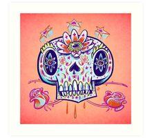 Shooga Skull Art Print
