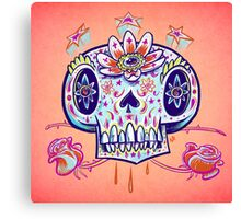 Shooga Skull Canvas Print