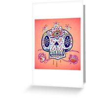 Shooga Skull Greeting Card