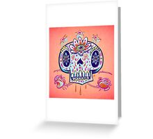 Shooga Skull Greeting Card