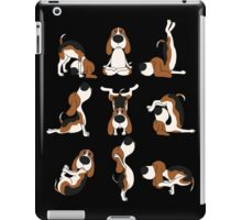 Funny Dogs Yoga Positions Hatha T-Shirt iPad Case/Skin