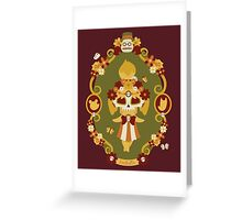 Muertos Crossing Greeting Card