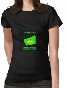 Don't dump on WA Womens Fitted T-Shirt