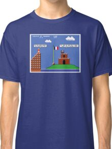 Super Mario Bros Meets The French Taunter Classic T-Shirt