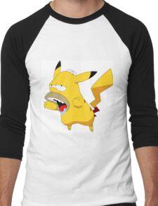 Homerchu Men's Baseball ¾ T-Shirt