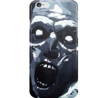 Hungry Zombie- Abstract Zombie Painting iPhone Case/Skin