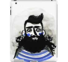 Cats and Beards iPad Case/Skin