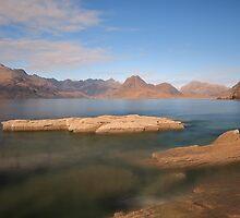 Loch Scavaig And The Cuillins by Maria Gaellman