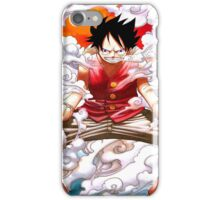 luffy power iPhone Case/Skin