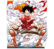 luffy power Poster