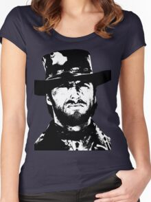 Clint Eastwood -Blondie Women's Fitted Scoop T-Shirt