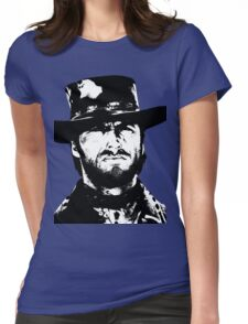 Clint Eastwood -Blondie Womens Fitted T-Shirt