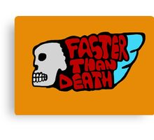 Faster than death wing Canvas Print