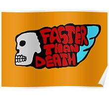 Faster than death wing Poster