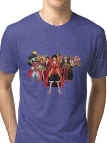 luffy team Tri-blend T-Shirt