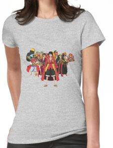 luffy team Womens Fitted T-Shirt