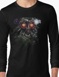 Legend of Zelda Majora's Mask Dark Link Long Sleeve T-Shirt