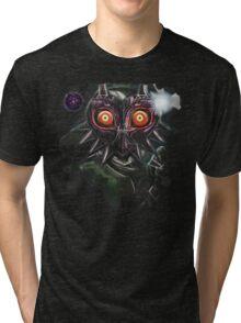 Legend of Zelda Majora's Mask Dark Link Tri-blend T-Shirt