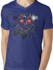 Legend of Zelda Majora's Mask Dark Link Mens V-Neck T-Shirt